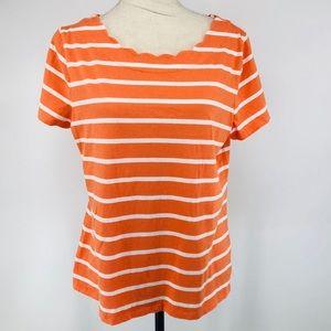 Talbots blouse size large